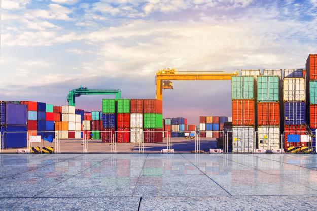 Transporte de container Solo Brasil
